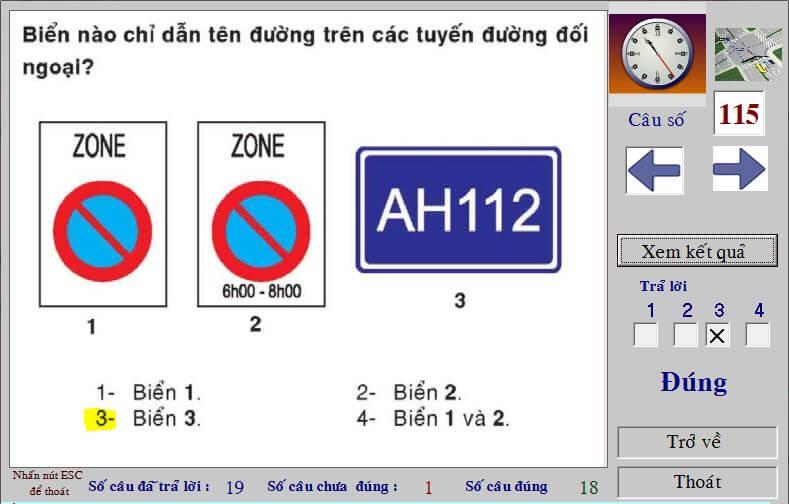 mẹo thi bằng lái xe máy a1