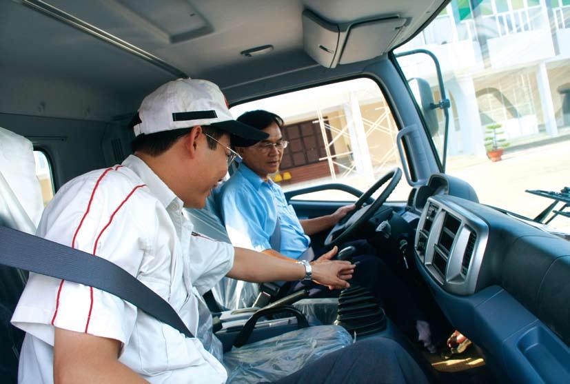 cách lái xe tải+