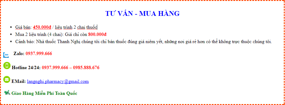thuốc cai thuốc lá tại Tiền Giang