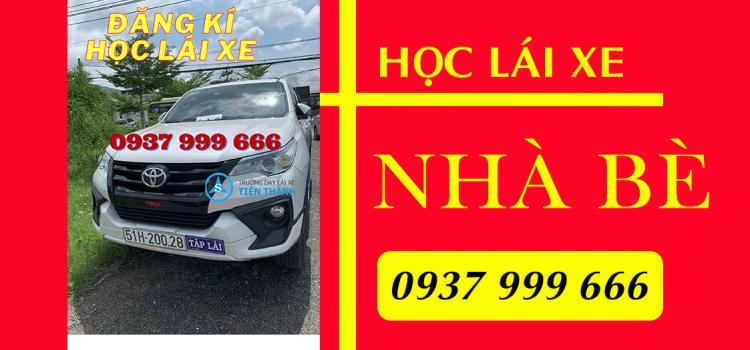 học lái xe Nhà Bè tại Tiến Thành