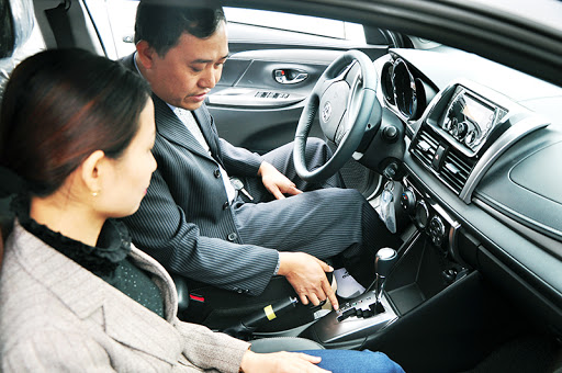 Thuê xe bổ túc tay lái tại Tiến thành